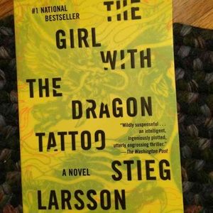 Other - The girl with the dragon tattoo soft Cover Book.